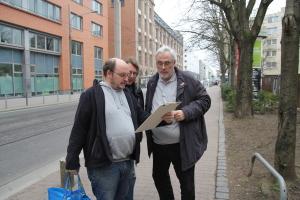 Lothar Reininger, Kai-Oliver Tiffany und Horst Koch-Panzner © Aljoscha Walther