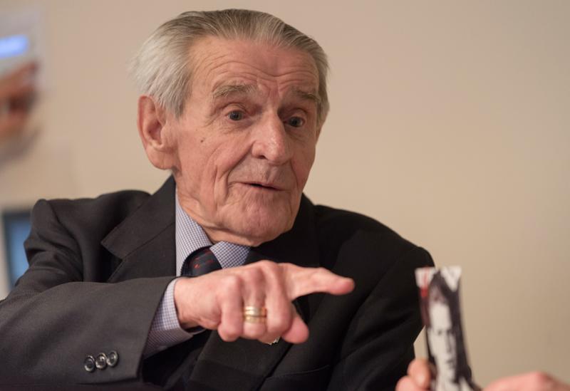 Andrzej Branecki im Zeitzeugengespräch © Horacio Villalobos / Corbis 2015