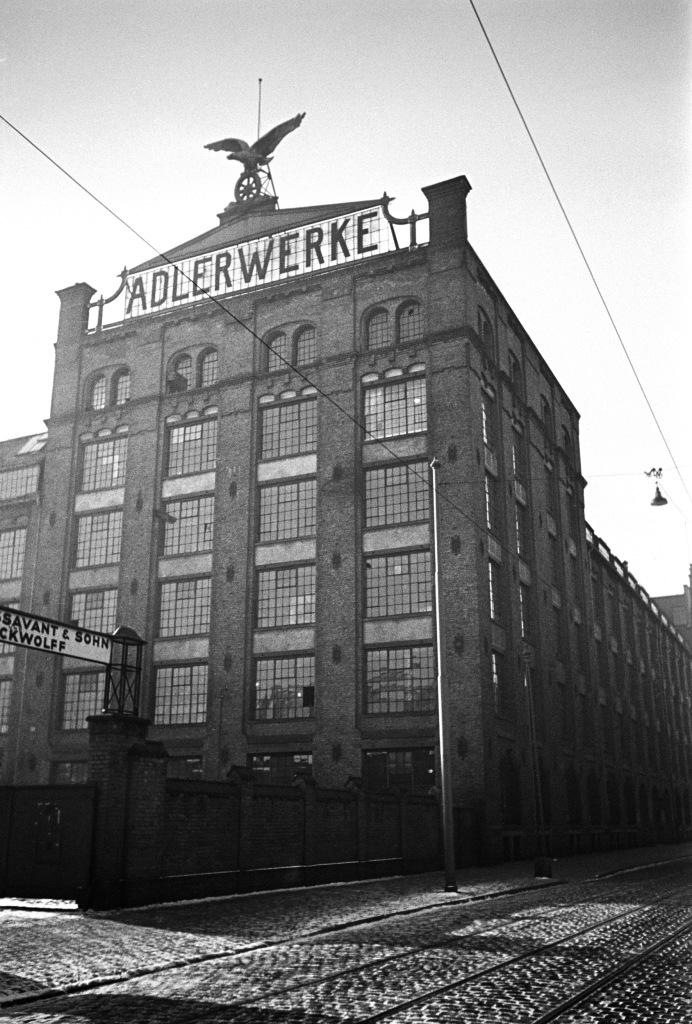 Adlerwerke um 1935/40