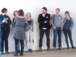 Ein Teil des Kernteams: Elina, Juliane, Brigitte, Sébastien, Thorsten und Sonja