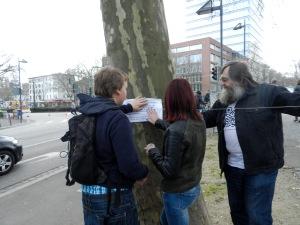 Herr Frenzel mitten drin Foto: Lucien Kirchner