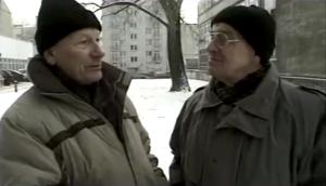 """Zbigniew Bialczyk und Andrzej Branecki im Gespräch in """"Zwei Balkone"""""""