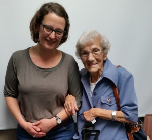 Sabina Nawara (93), Überlebende des KL-Auschwitz © Stefanie Grohs