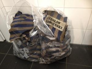 Stoffbinden, die von der Polizei gesichert wurden © Snejanka Bauer