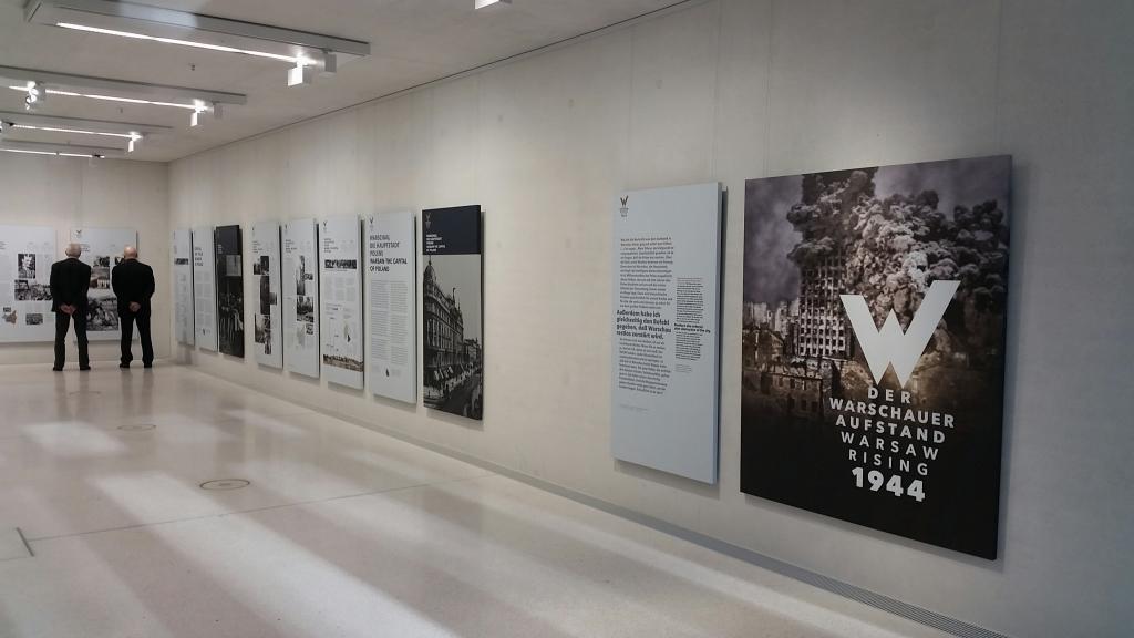 """Ausstellung """"Der Warschauer Aufstand"""" im NS DokumentationszentrumMünchen © Stefanie Grohs"""